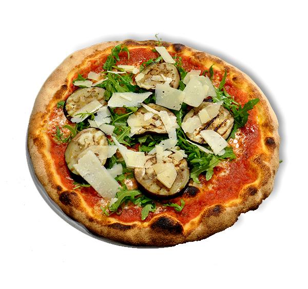 Pizza Auberginen